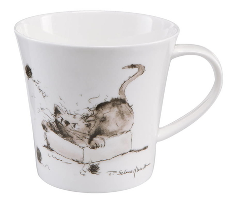 GOE-26500151 Time to Play - Artist Mug Peter Schnellhardt Goebel
